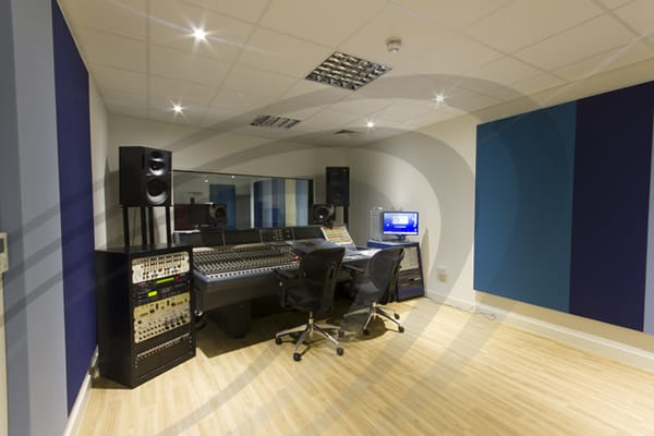 IAC Acoustics music studio acoustic panels
