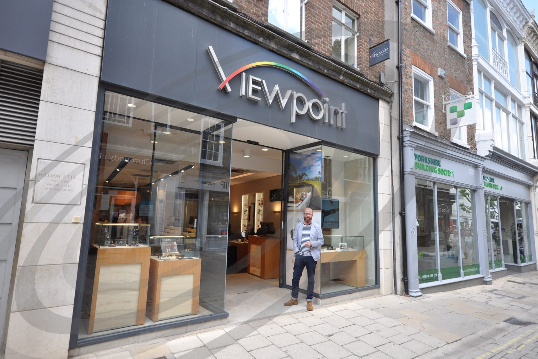 store front viewpoint opticians york