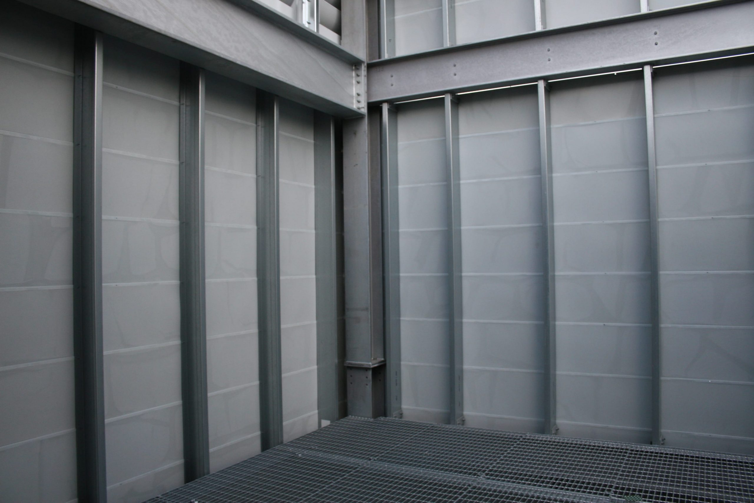 IAC Acoustics powergate barrier cladding panel