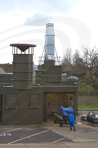 IAC Acoustics aero-engine test facility exterior