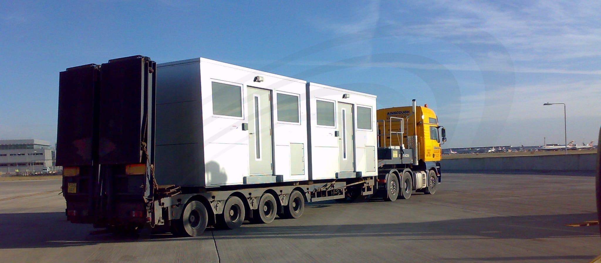 IAC Acoustics bespoke acoustic canpoy transportation
