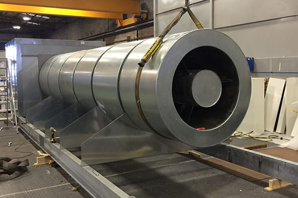 IAC Acoustics conic-flow cirular attenuator silencer