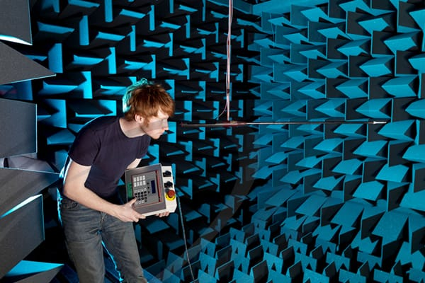IAC Acoustics fully anechoic chamber noise-lock and moduline