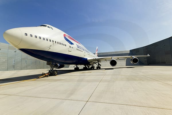 IAC Acoustics airport gre british airways airplane