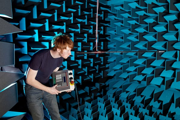 IAC Acoustics fully anechoic chamber test room