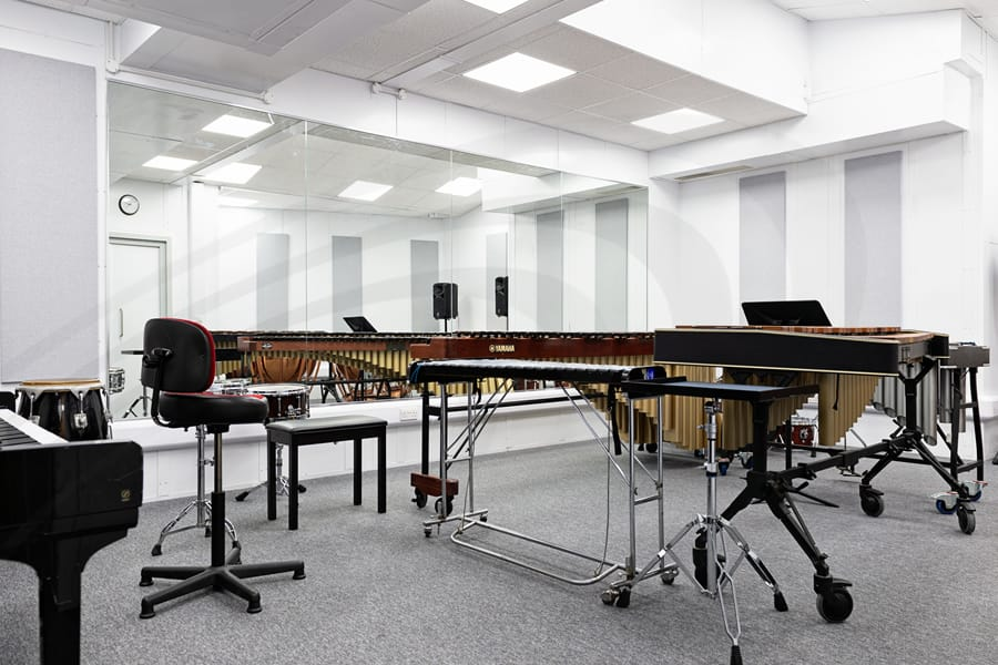 iac acoustics Royal Academy of Music in London test room