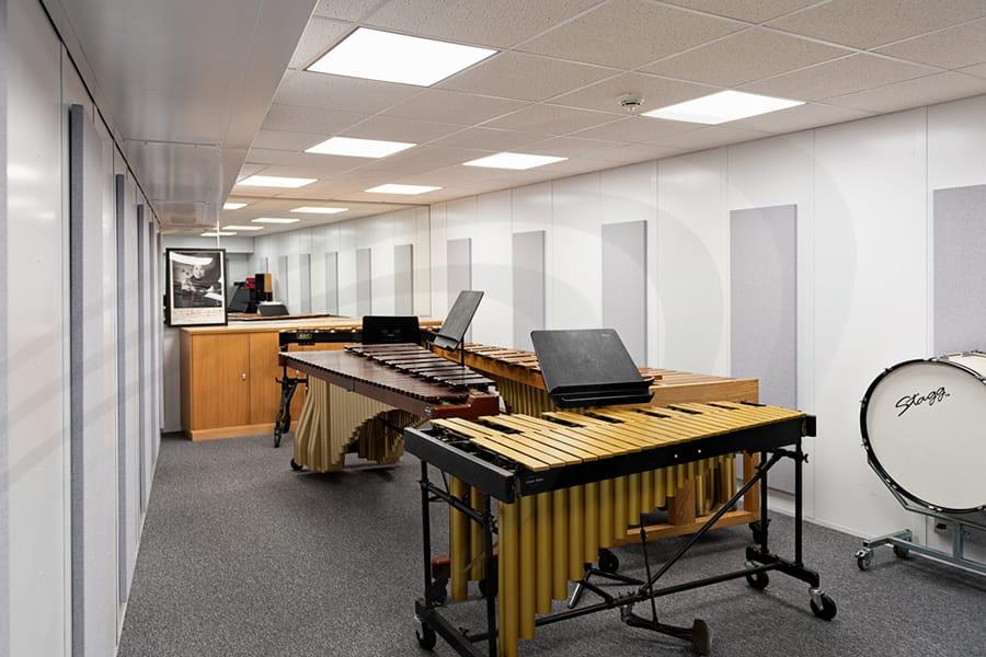IAC Acoustics music practice room acoustic