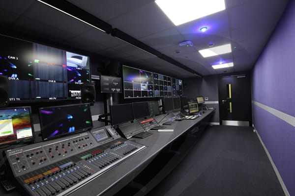 IAC Acoustics studio pakages tv/film studio