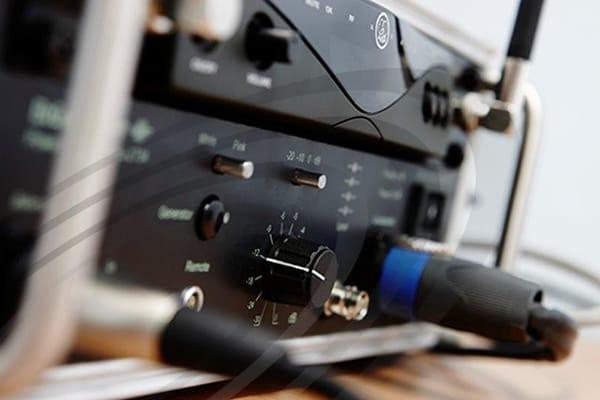 IAC Acoustics audio system closeup