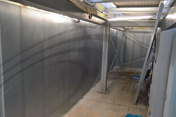 IAC Acoustics varitone sound absoption system construction
